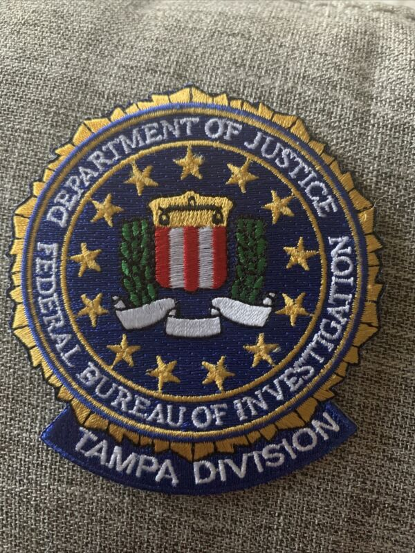fbi tampa patch