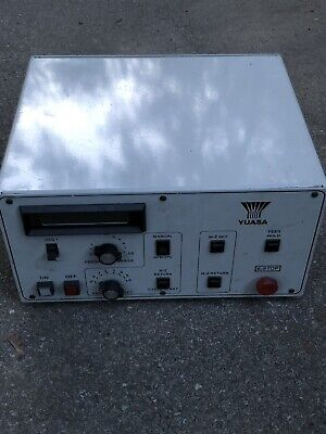 Yuasa Rotary Axis Table 5c Indexer Controller Model Udnc-100 Indexing Control