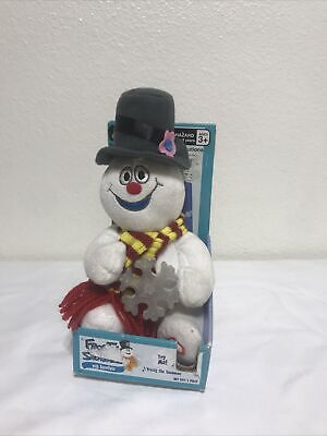 Gemmy Frosty The Snowman Animated Singing Plush With Lighted Snowflake