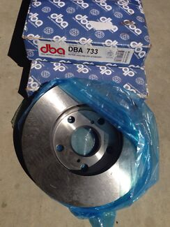 DBA Front Rotor Disc Break DB733 (Camry 93-97) Glenwood Blacktown Area Preview