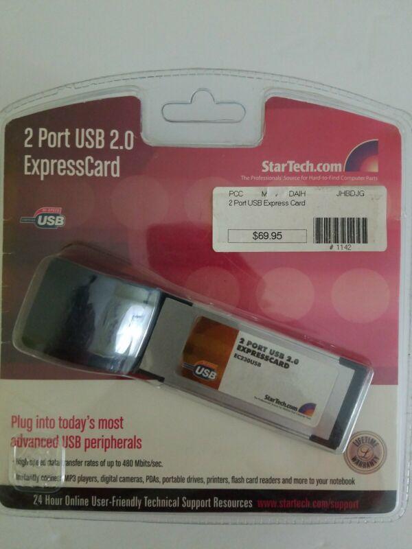 2 Port USB 2.0 ExpressCard by StarTech