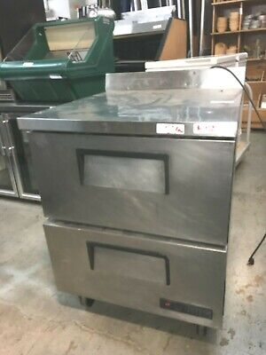 Cooler Refrigerator True 2 Drawers Stainless-steel D 27.5 X 30 X 39.5h