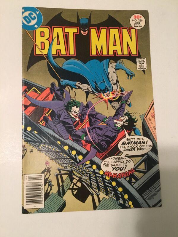 "BATMAN #286 1977 ""Joker"