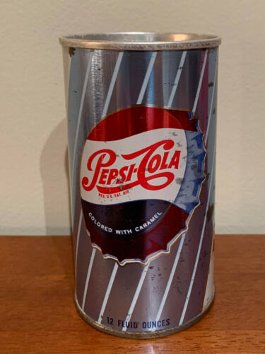 Vintage USA Ayers Mass.  Empty Pepsi Can 12 Fluid Ounces. *** Must SEE ***