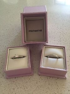 Michael Hill Engagement Ring and Wedding Band Mullaloo Joondalup Area Preview