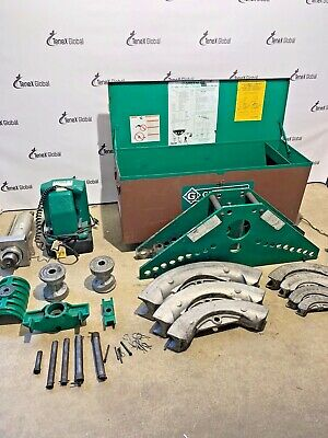 Greenlee 980 Hydraulic Power Pump W Greenlee 885 Hydraulic Bender 1-14 To 5