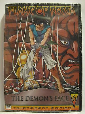 Flame of Recca - Vol. 6: The Demons Face (DVD, 2006) NEW! See Deatials