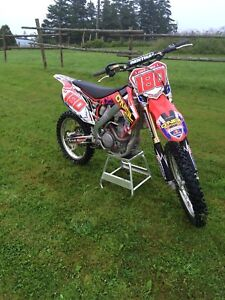 2010 crf 250 with a big bore kit to a 290