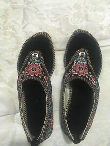 Formal designer HAND MADE girl shoes slip ons