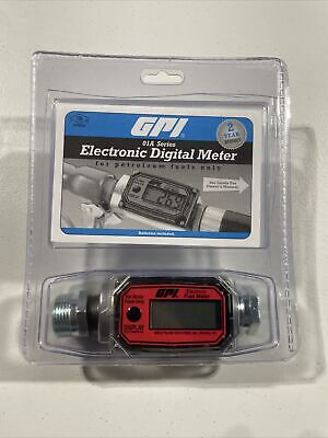 Gpi 01a Series Electronic Digital Meter For Petroleum Fuels Only - 01a31gzm New