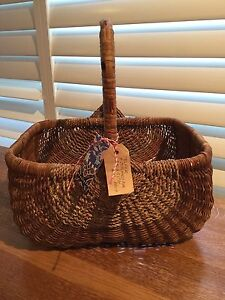 Antique cane basket from Dalkeith in WA Mosman Mosman Area Preview