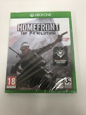 Xbox One-Homefront - The Revolution /Xbox One GAME Brand New Sealed