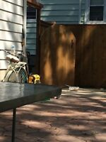 Fence / deck