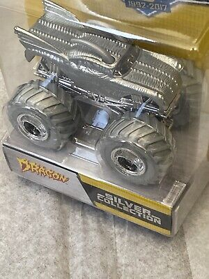 Hot Wheels Monster Jam Silver Collection Dragon