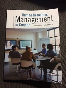 Human Resources Management in Canada 13th edition textbook