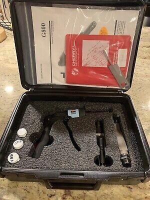 Cherry Aerospace G800 Ergonomic Hand-powered Riveter Installation Kit
