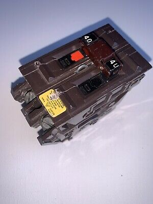 Wadsworth 40 Amp Double Pole 2 Pole 2p 40a Circuit Breaker Tested