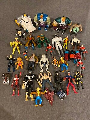 VTG 90's 00's Kids Toy lot Transformers Power Ranger Mighty Ducks Marvel Starwar