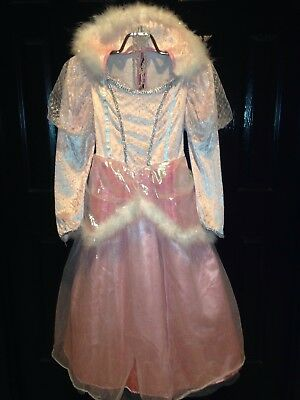 RUBIES~EXQUISITE QUALITY PINK DRESS UP COSTUME PRINCESS FAIRY GIRL MEDIUM M 8-10