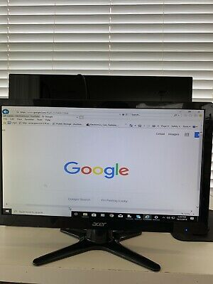 "Acer 19.5"" Widescreen LCD Monitor Display HD G206HQL *NO AC ADAPTER*"