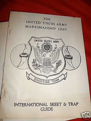 The United States Army Marksmanship Unit International Trap and Skeet Guide