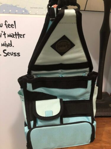 Amms Tote-ally Cool On The Go Tote Blue and Black