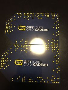 Two Best Buy gift cards London Ontario image 1