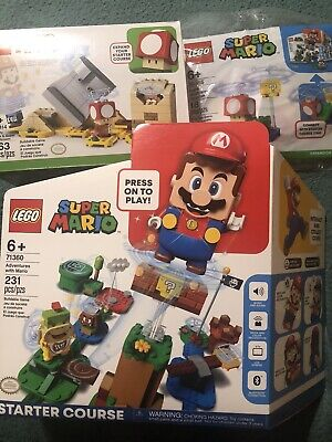 LEGO Super Mario Starter Course 71360 Monty Mole 40414 Super Mushroom Surprise