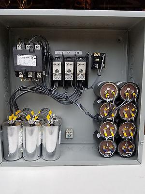 50hp Cnc Balanced 3 Phase Rotary Converter Panel 10 year warranty!