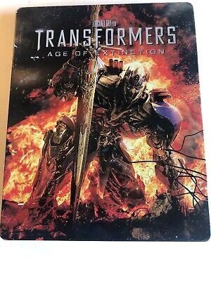 Transformers: Age of Extinction (Blu-ray/DVD, 2014) SteelBook