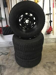 265 70 17 Artic Claw winter tires 5x139 bolt Dodge Ram