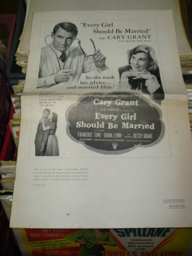 EVERY GIRL SHOULD BE MARRIED, orig 12pg prbk [Cary Grant, Diana Lynn] - 1948