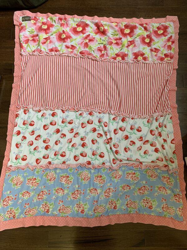 MATILDA JANE STRAWBERRY and Floral Blanket/Quilt