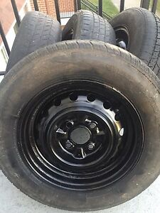 13'' Rims Bolt Pattern 4 x 100 (Honda Civic, Toyota Corolla,..)