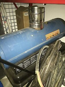 Sure flame kerosene heater
