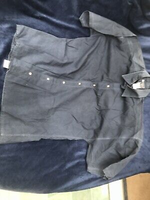 """Vintage? Versace Jeans Couture Mens Shirt. Medium / Large / XL. 48"""" Chest. Blue"""