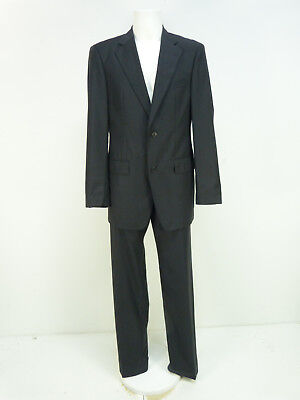 Extra Lange Wolle Anzug (JOOP! ANZUG Gr 98 / SCHWARZ GESTREIFT & SCHURWOLLE - SUPER 140   ( O 4564 ))