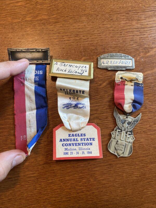 1944 FOE Fraternal Order of Eagles Ephemera