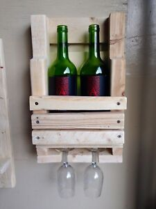 Custom Made Wood Wine Rack