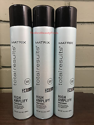 Matrix Total Results High Amplify Proforma Firm Hold Hairspray 10.2oz ( 3 PACK )