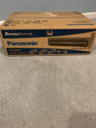 Panasonic PV-D4745K Dual-Deck Progressive Scan DVD Player/VC