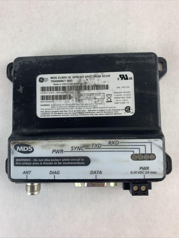 MDS EL805 Spread Spectrum XCVR Transnet 900