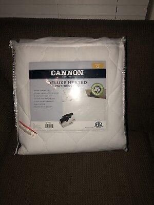 CANNON DELUXE QUEEN HEATED ELECTRIC MATTRESS PAD Deluxe Electric Heating Pad