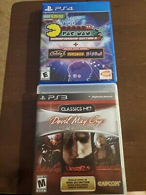 Devil May Cry HD Collection (PS3) Pac-Man Championship Edition 2 (PS4)