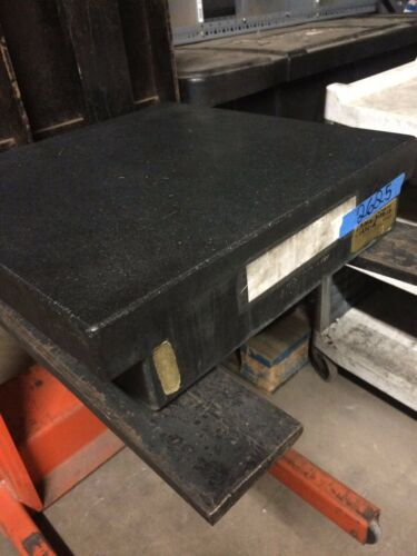 Calibrated Granite Surface Plate