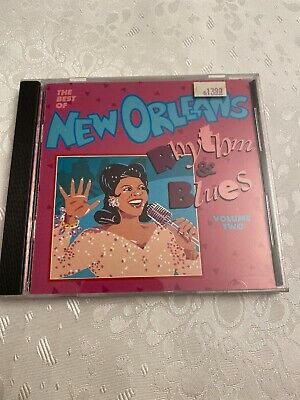The Best of New Orleans Rhythm & Blues, Vol. 2 by Various Artists (CD,