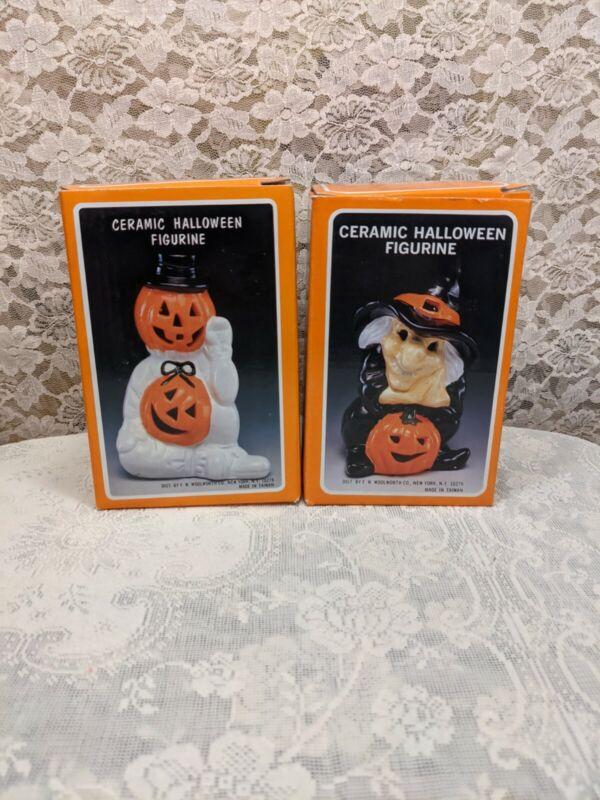 Vintage Woolworth Company Ceramic Figurines NOS