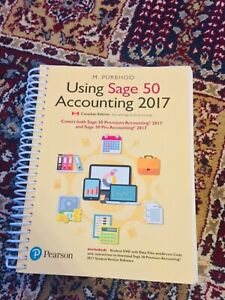 Using Sage 50 Accounting 2017 (With DVD)