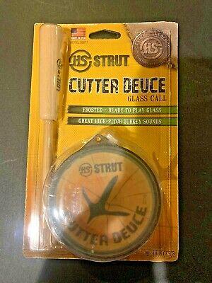 HS Strut Cutter Deuce Glass Turkey Call