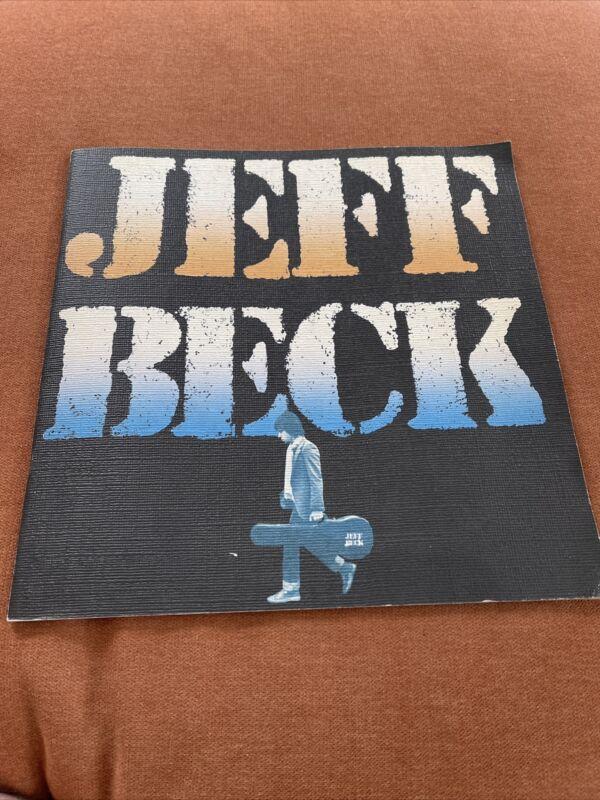 Jeff Beck Tour Book Japan 1980 UDO Artists